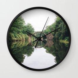 Devil's Bridge Wall Clock