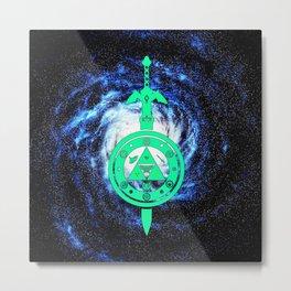 The Sword Of Zelda Metal Print