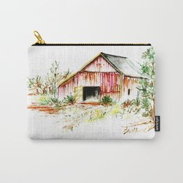 Old Tobacco Barn Carry-All Pouch