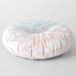 Rainbow Pine Cone Floor Pillow