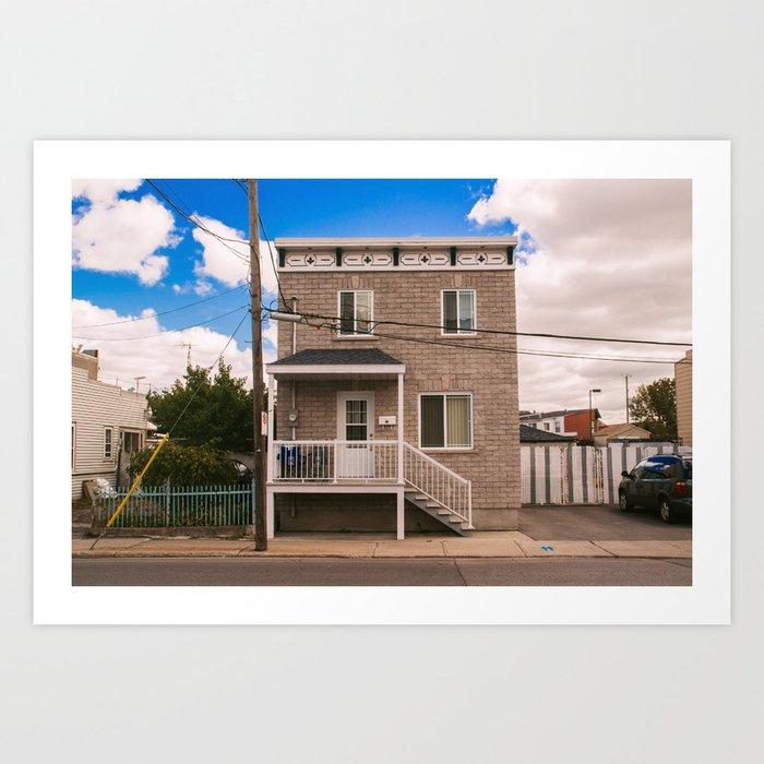 Quebec House Art Print