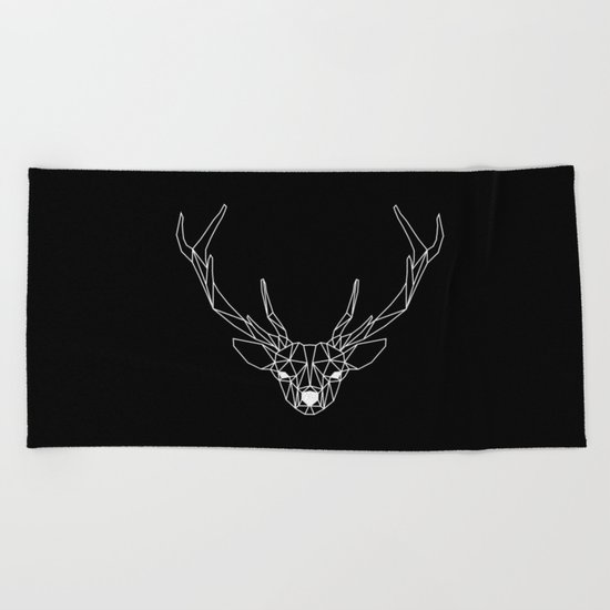 Deer II Beach Towel