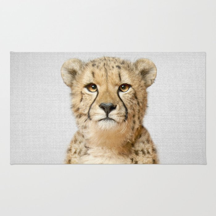 Cheetah - Colorful Rug