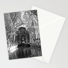 La Fontaine de Medicis Stationery Cards