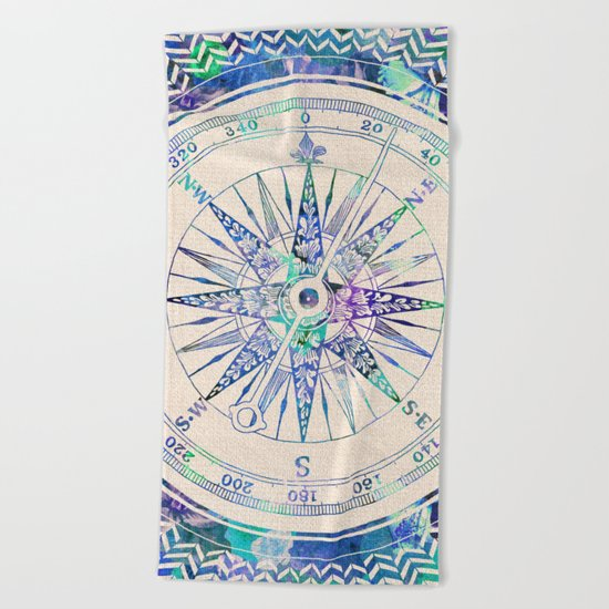 Follow Your Own Path Beach Towel
