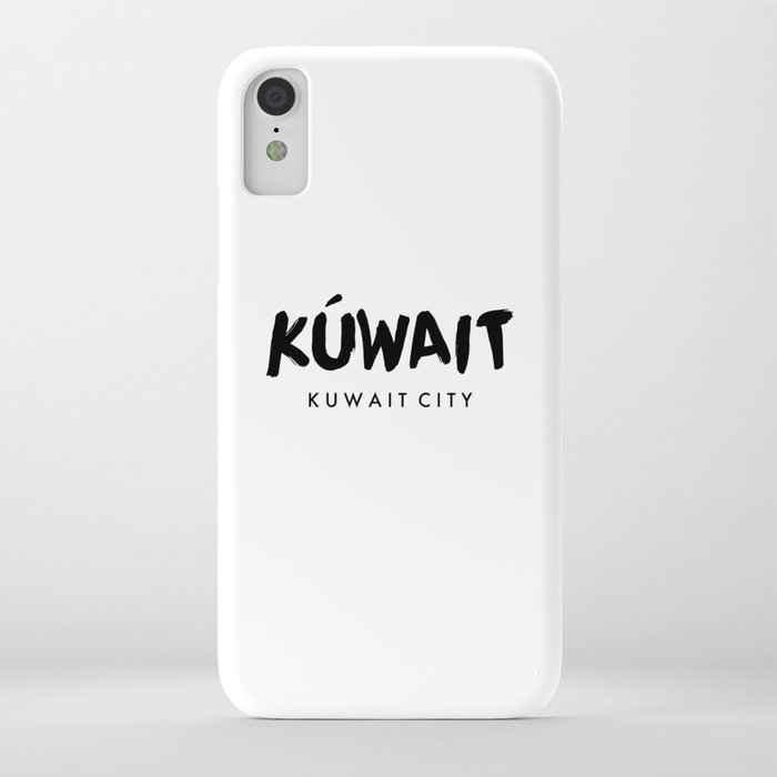 Kuwait City x Kuwait iPhone Case by sabr | Society6
