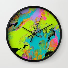 Totally Radical Wall Clock