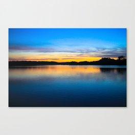 Sunset at Stumpy Lake in Virginia Beach Canvas Print