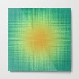 Abstract scatter Metal Print