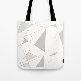 Duo of Triangles Tote Bag