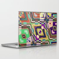 diamonds Laptop & iPad Skins featuring Diamonds by Steve W Schwartz Art