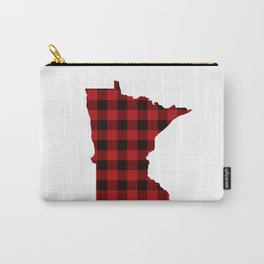 Minnesotans Love Flannel Carry-All Pouch