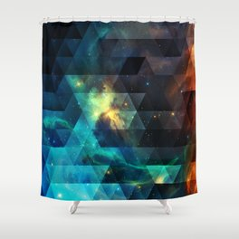 Galaxies I Shower Curtain