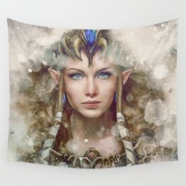 Epic Princess Zelda from Legend of Zelda Painting Wall Tapestry