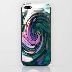 paua spiral iPhone & iPod Skin