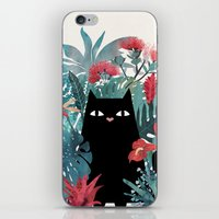 hawaiian iPhone & iPod Skins featuring Popoki by littleclyde