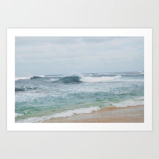 NORTH SHORE, HAWAII Art Print