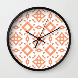 PATTERN 88 - BLOOMING DAHLIA Wall Clock
