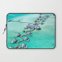 Water vila on Maldives Laptop Sleeve