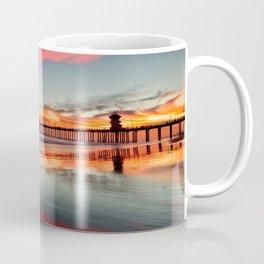 Huntington Beach Sunsets  8/5/15  Coffee Mug