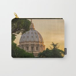 Sunset At The Vatican Carry-All Pouch