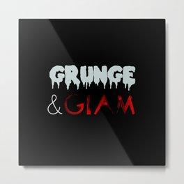 Grunge & Glam Metal Print