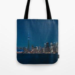 Toronto Blue Tote Bag