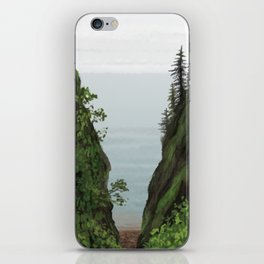 cape split iPhone Skin