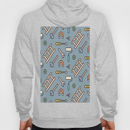 Tools Icons Pattern Vector Hoody