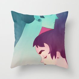 twoofus Throw Pillow