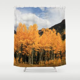Aspens in Colorado Shower Curtain