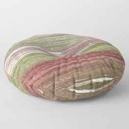 Striped abstract Floor Pillow