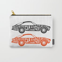 A Fast Sport Car Carry-All Pouch