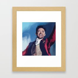 Hugh Jackman Framed Art Print
