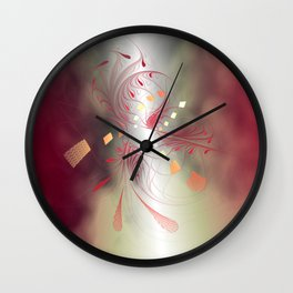 abstract dream -5- Wall Clock
