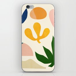 Abstraction_Floral_001 iPhone Skin