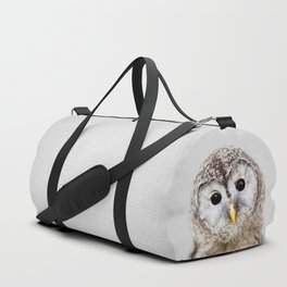 Baby Owl - Colorful Duffle Bag