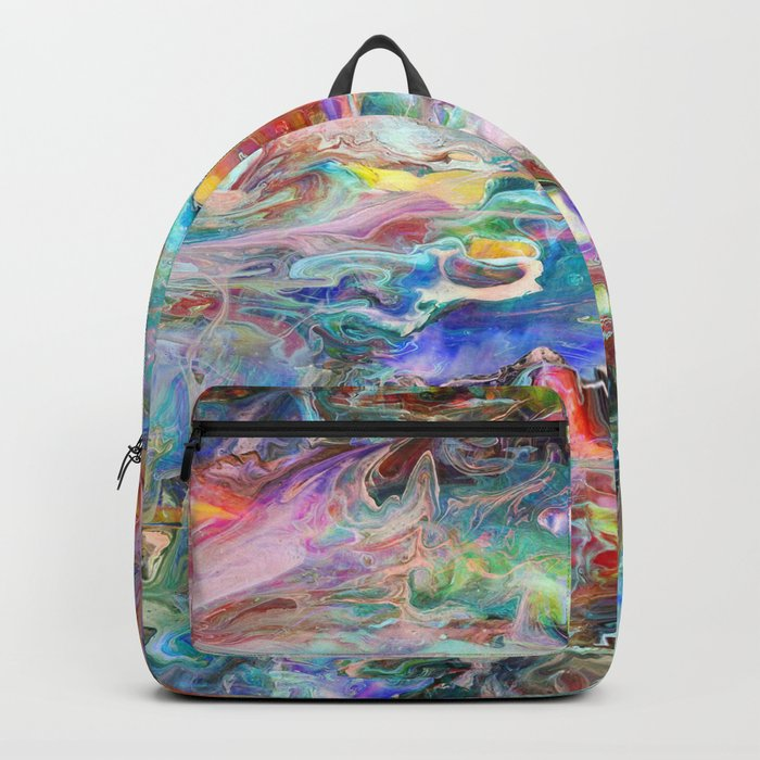 Abstract Marble 04 Backpack