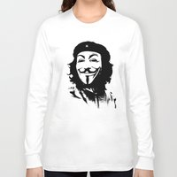 stickers Long Sleeve T-shirts featuring Expect Che by rubbishmonkey