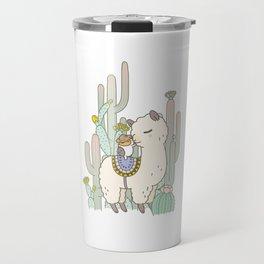 Alpaca Kiss Travel Mug
