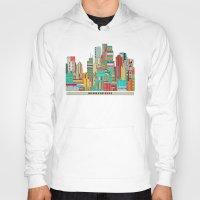 minneapolis Hoodies featuring Minneapolis city  by bri.buckley