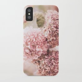 dusty pink iPhone Case