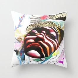 MAdame madAme Throw Pillow
