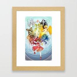 Card Captor Sakura Framed Art Print