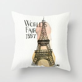 c'est l'amour Throw Pillow