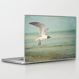 """The Seagull see farthest who flies highest."" --Proverbs quote Laptop & iPad Skin"