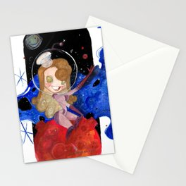 Space Hoes Stationery Cards