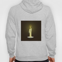 Candle on dark background Hoody