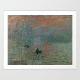 Impression, Sunrise Art Print