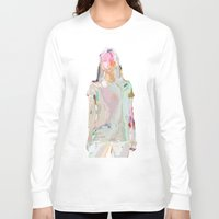camus Long Sleeve T-shirts featuring été by Three of the Possessed